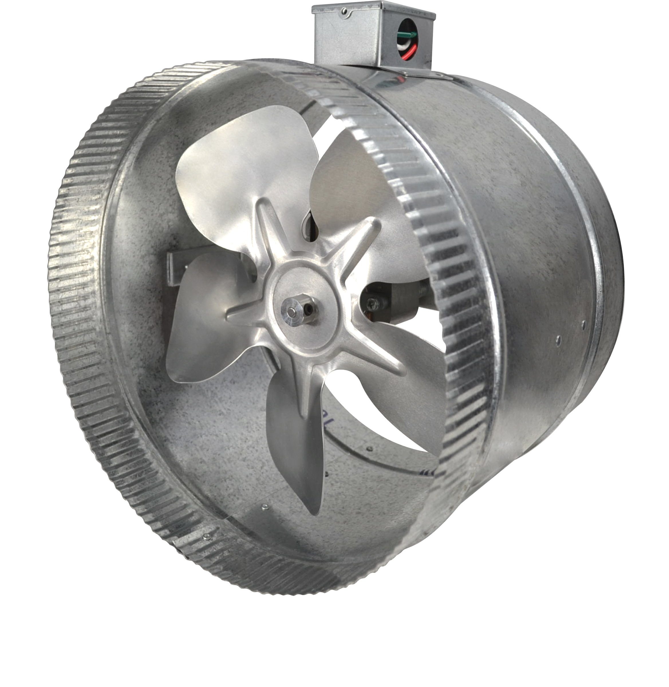"2-Speed 10"" Inductor® In-Line Duct Fan™"