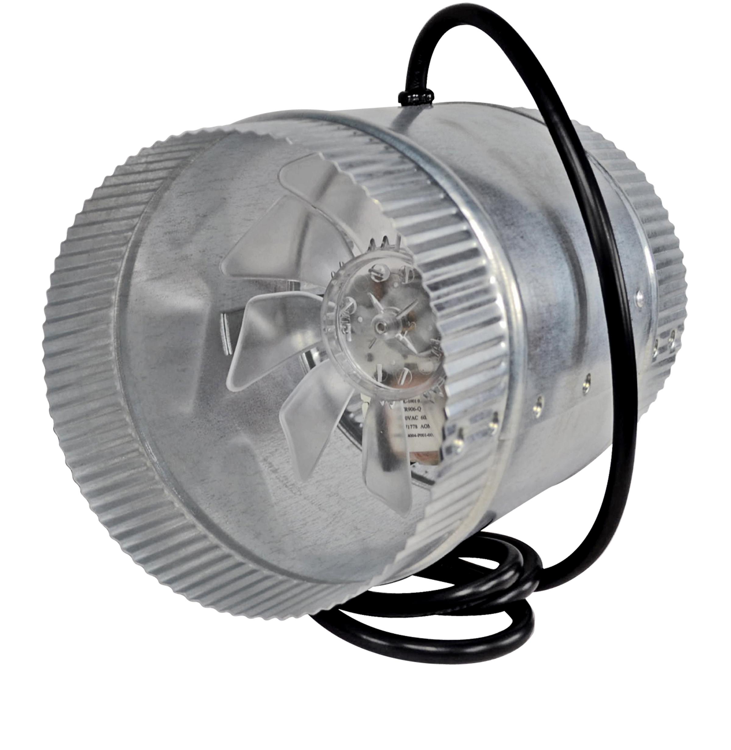 Furnace Duct Fans : In line duct fan boost air flow