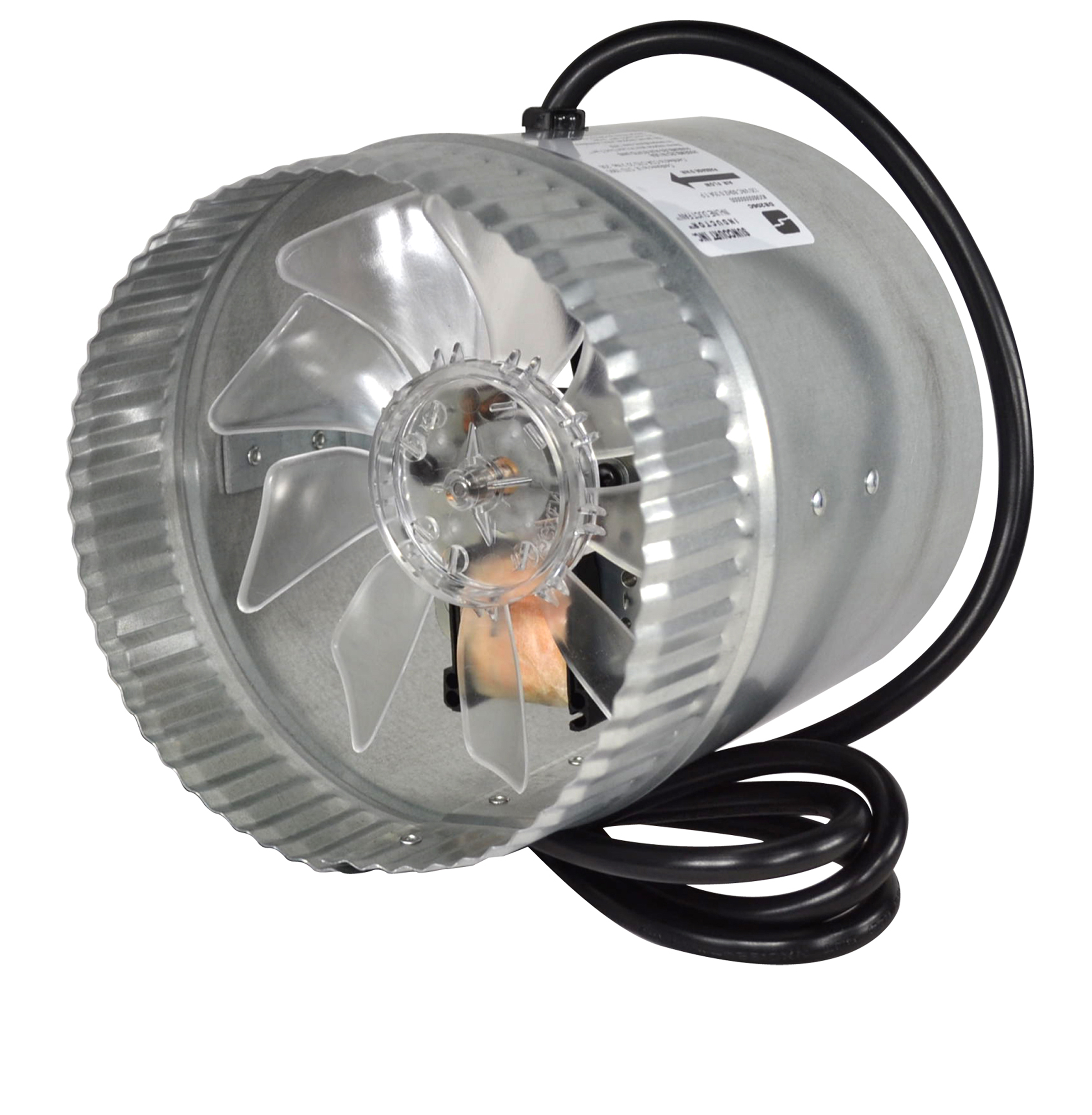 Inductor® Corded In-Line Duct Fan™