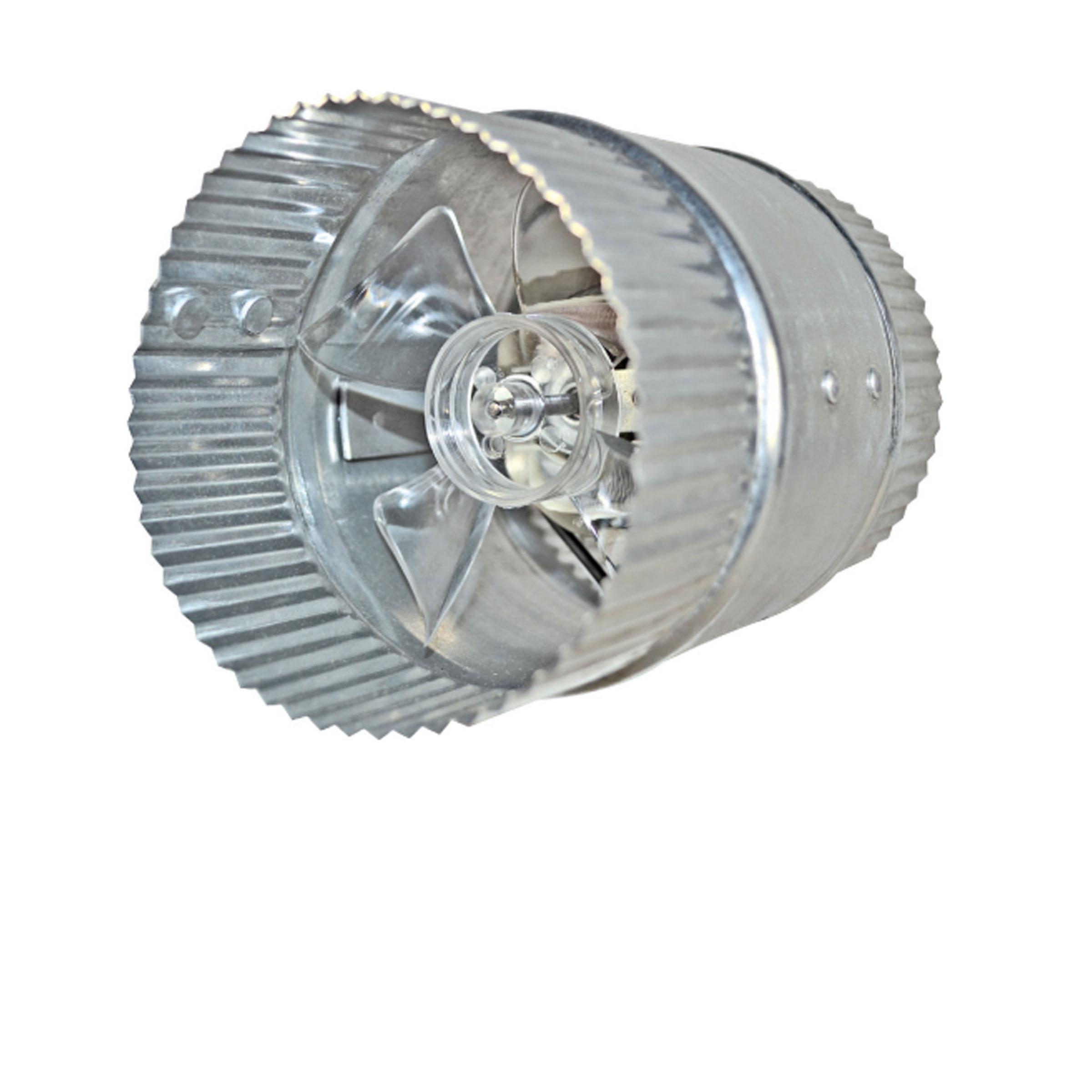 Inductor Inline Duct Fan Inductor® In line Duct Fan™ #5B6970