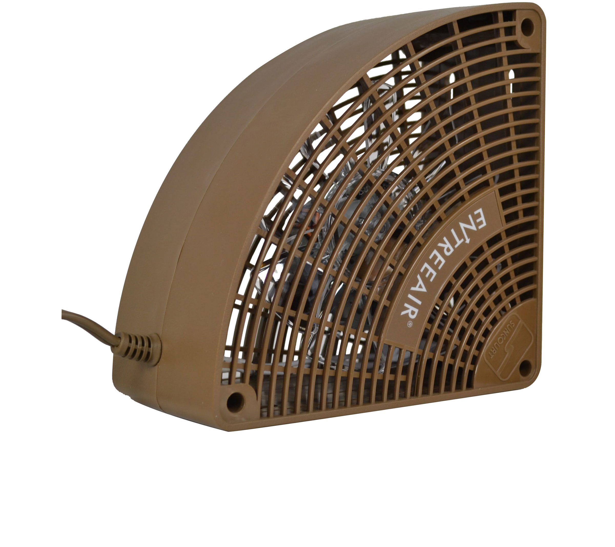 entreeair door frame fan brown rr100 b